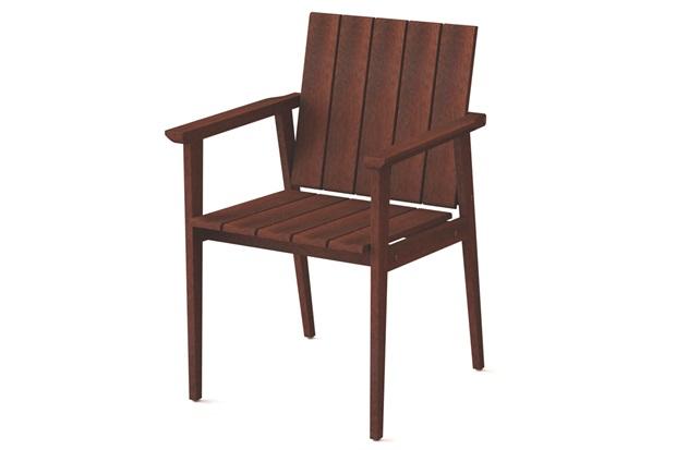 Cadeira com Braços em Madeira 85x56,1x57,4cm Mogno - Tramontina