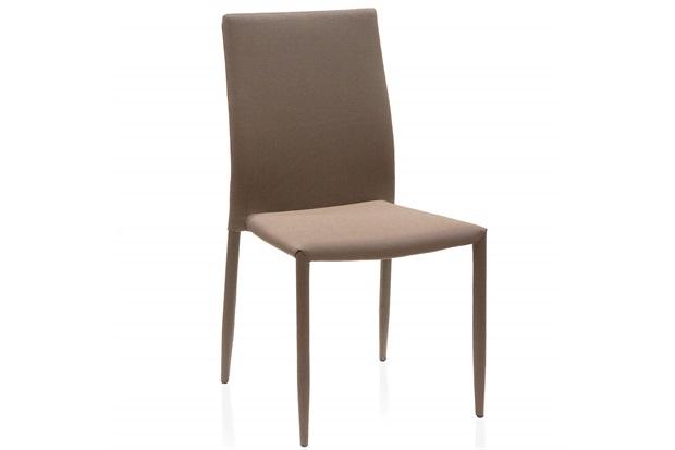 Cadeira Delson Trama 53x44x93cm Marrom - Casa Etna