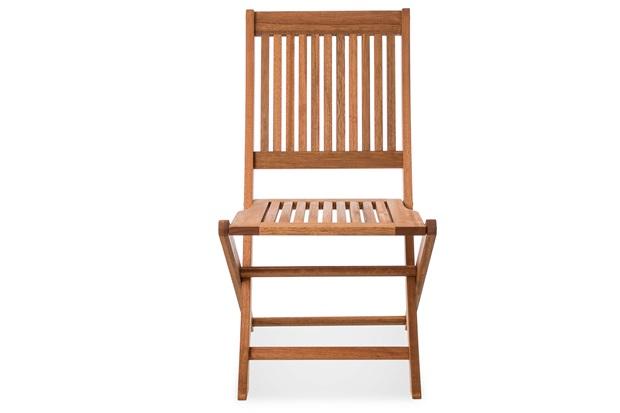 Cadeira Dobrável em Madeira Arpoador 64x47cm Jatobá - Casa Etna
