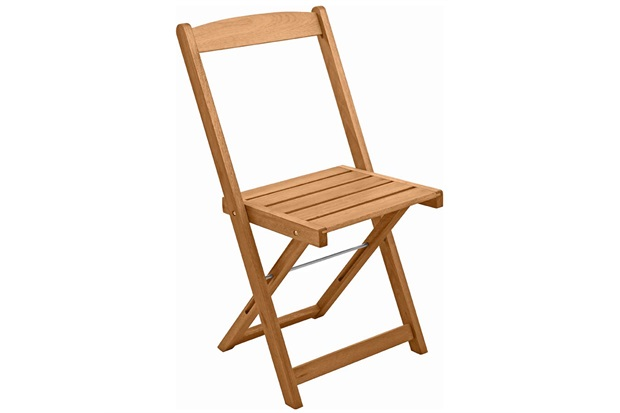 Cadeira Dobrável Orquídea Madeira - Metalnew