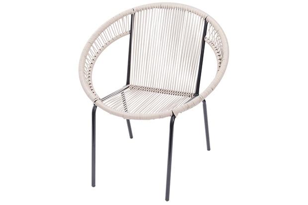 Cadeira em Aço E Pvc Cancun Fendi - Ór Design