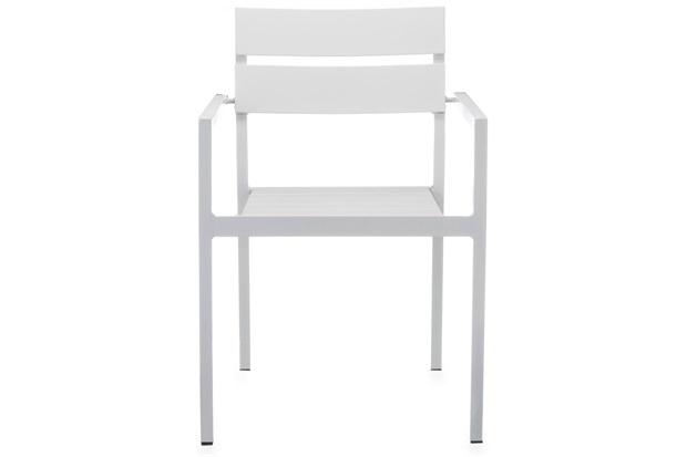 Cadeira em Alumínio Bahamas Branca - Casa Etna