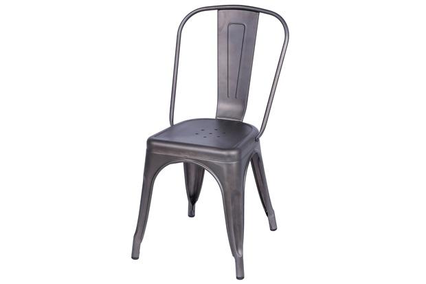 Cadeira em Alumínio Tommy Bronze - Ór Design