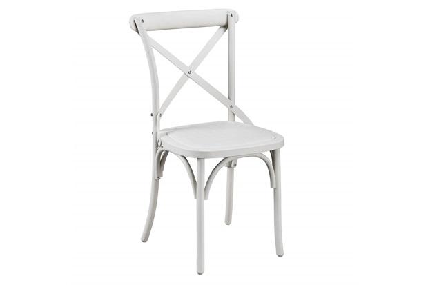 Cadeira em Plástico Luigi Out 45x41x90cm Branca - Casa Etna