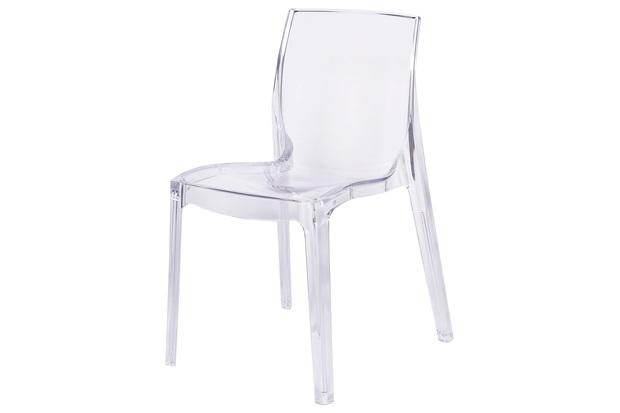 Cadeira em Policarbonato Bayern Incolor - Ór Design
