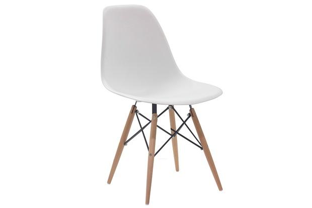 Cadeira em Policarbonato Eames 2 47x55cm Branca - Casa Etna