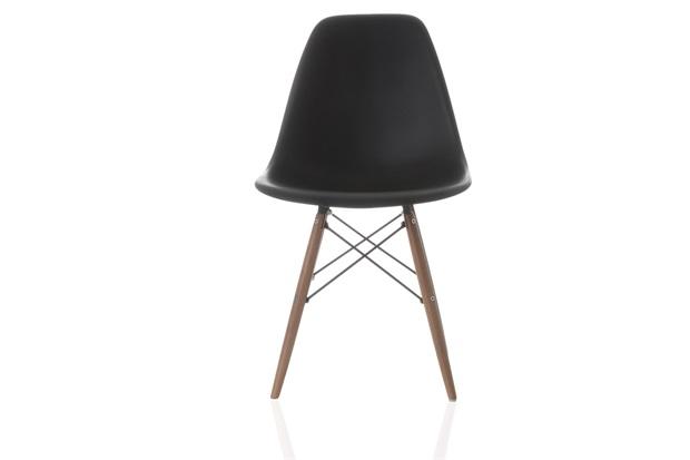 Cadeira em Policarbonato Eames 2 47x55cm Preta - Casa Etna