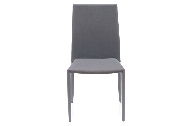 Cadeira em Poliéster Delson Trama 53x44cm Chumbo - Casa Etna