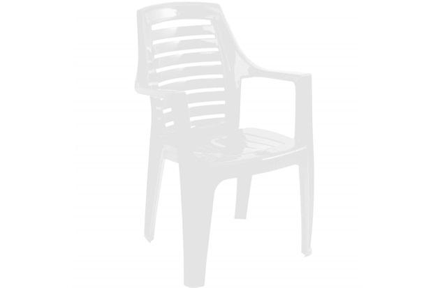 Cadeira em Polipropileno Marbella 91x55cm Branca - Gardenlife