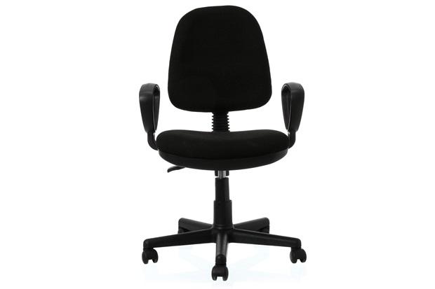 Cadeira Giratória Malaquita 2 60x60cm Preta - Casa Etna
