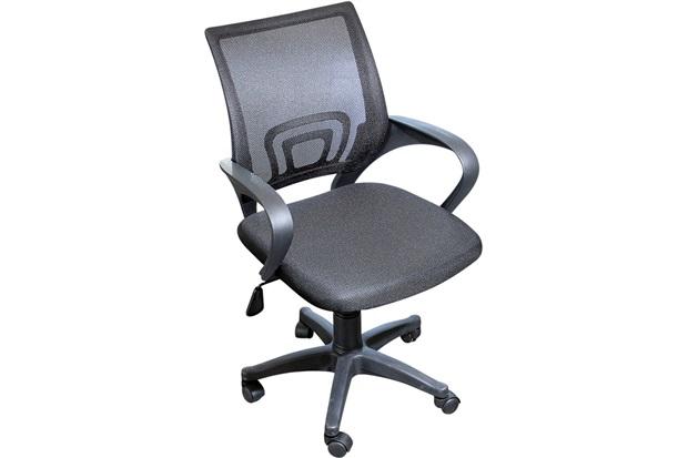 Cadeira para Escritório com Rodízios Executiva 87x56cm Preta - Casanova