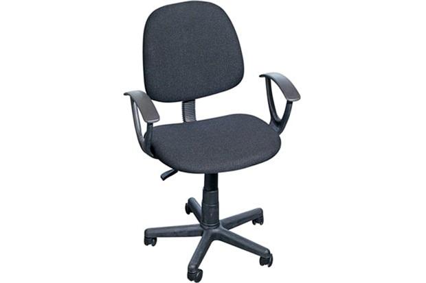 Cadeira para Escritório com Rodízios Operacional 84x40cm Preta - Casanova