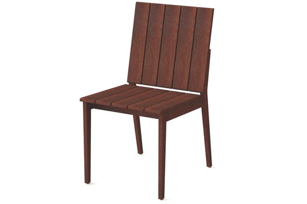 Cadeira sem Braços em Madeira 85x44,9x56,7cm Mogno - Tramontina
