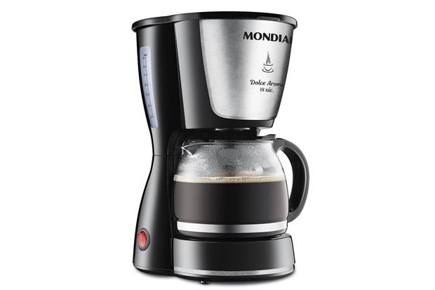 Cafeteira Elétrica Dolce Arome 550w 18 Xícaras Preta - Mondial