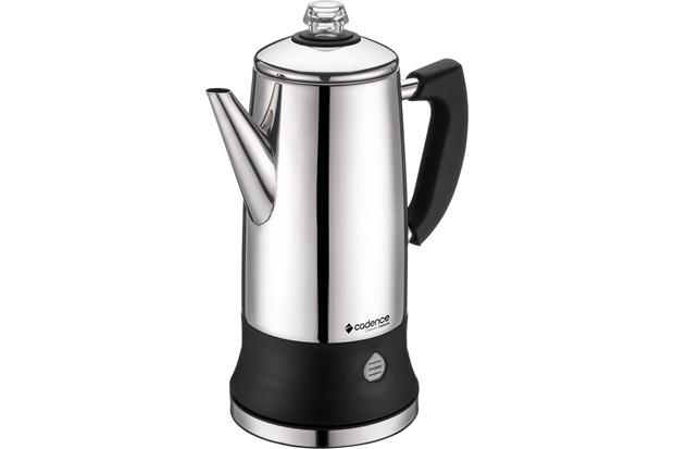 Cafeteira Elétrica Italiana em Inox 950w 220v Cromada - Cadence