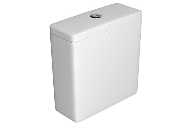 Caixa Acoplada com Acionamento Duo Quadra Branca - Deca