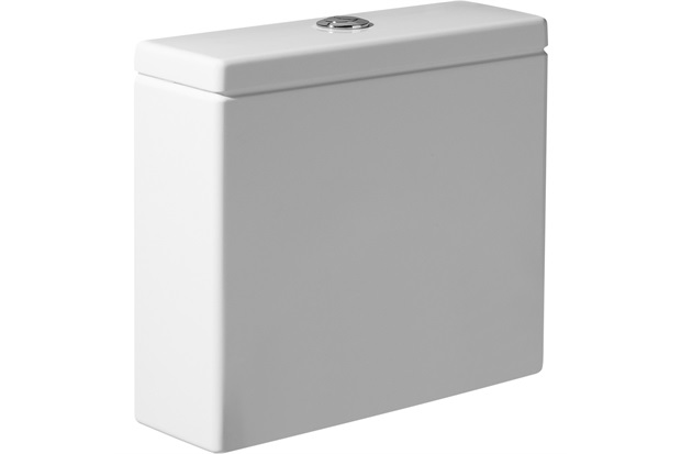Caixa Acoplada com Saída Dual para Bacia Hall Branca - Roca