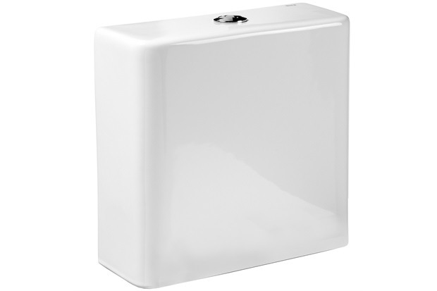 Caixa Acoplada Ecoflush 3/6 Litros Dama-N Branca - Roca