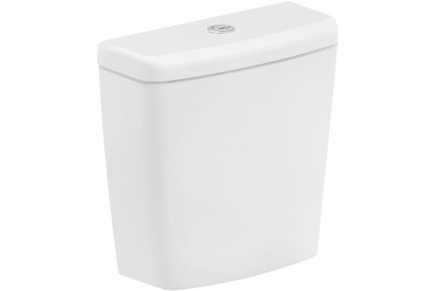 Caixa Acoplada Ecoflush 3/6 Litros para Bacia Suite Branca - Roca