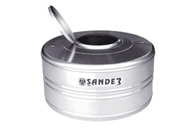 Caixa D'Água em Aço Inox 1.000 Litros Compacta Ac - Sander