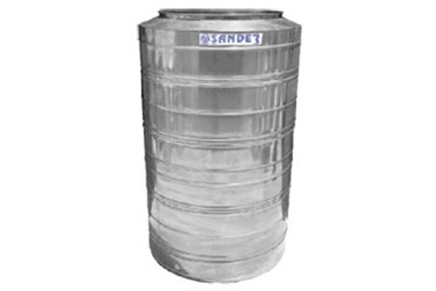 Caixa D'Água em Aço Inox 3.000 Litros Compacta Bg - Sander