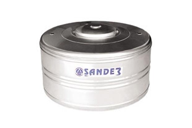 Caixa D'Água em Aço Inox 500 Litros Compacta Ac - Sander
