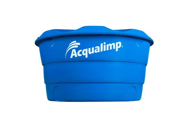 Caixa D'Água em Polietileno Básica com 500 Litros Azul - Acqualimp