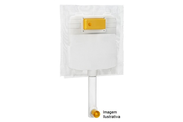 Caixa de Descarga Embutida Alvenaria E Drywall - Docol