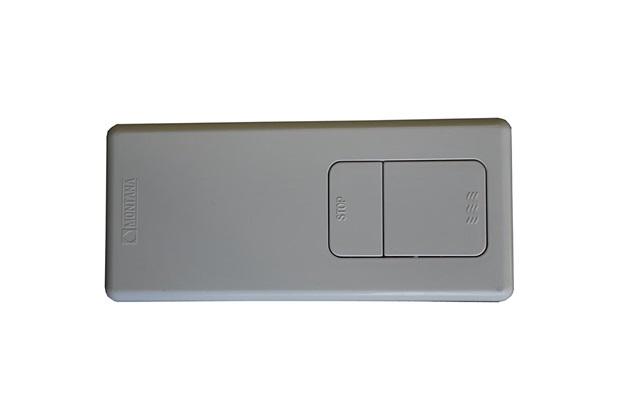 Caixa de Descarga Embutir Top com Acabamento Branco  - Montana