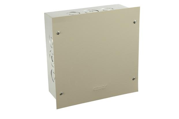 Caixa de Passagem para Embutir Metálica Bege 20x20 Cm Ref.: Dy901022   - Pial Legrand