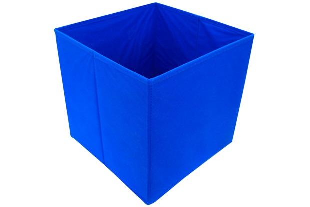 Caixa Organizadora em Tnt 28x28cm Azul - Casanova