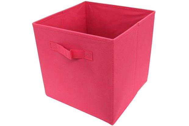 Caixa Organizadora em Tnt 28x28cm Pink - Casanova