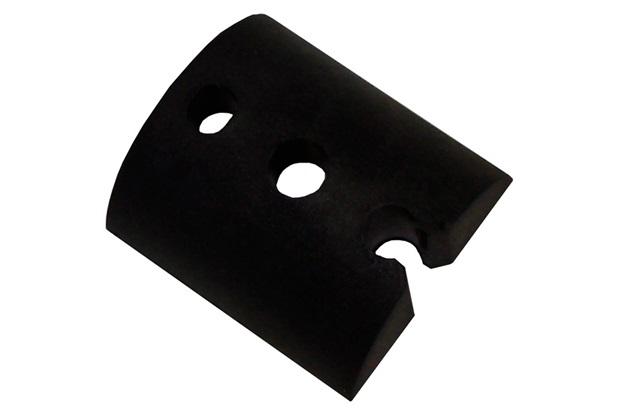Calço para Telha Ondulada Pequeno Preto - Fixtil