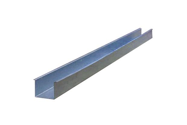 Calha Quadrada em Aço Galvanizado com 28cm E 3 Metros - Calha Forte