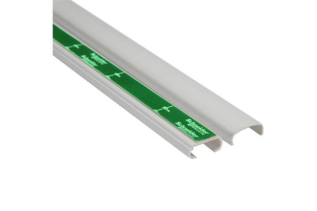 Canaleta com Adesivo Dexson 22x10mm com 2 Metros Branca  - Schneider