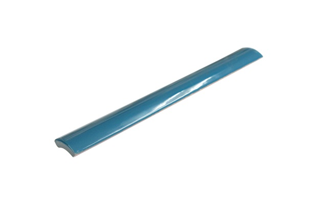 Canaleta Externa para Piscina Borda Bold Azul Petróleo 2,5x20cm - Eliane