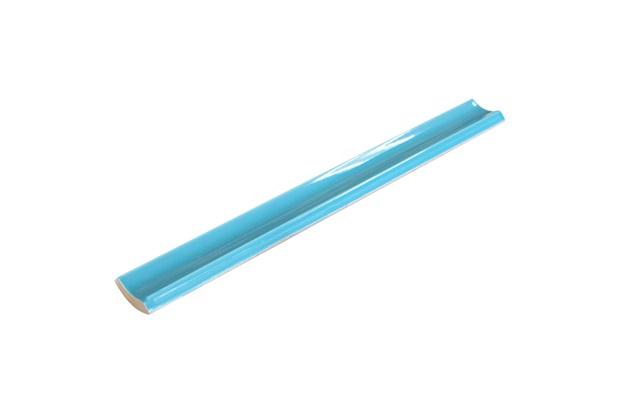 Canaleta Interna para Piscina Borda Bold Azul Mar 2,5x20cm - Eliane