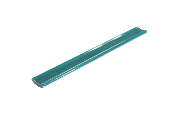 Canaleta Interna para Piscina Borda Bold Verde Musgo 2,5x20cm - Eliane