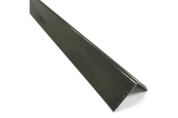 """Cantoneira em """"L"""" de Alumínio 1/2"""" Bronze com 3 Metros - Metropac"""