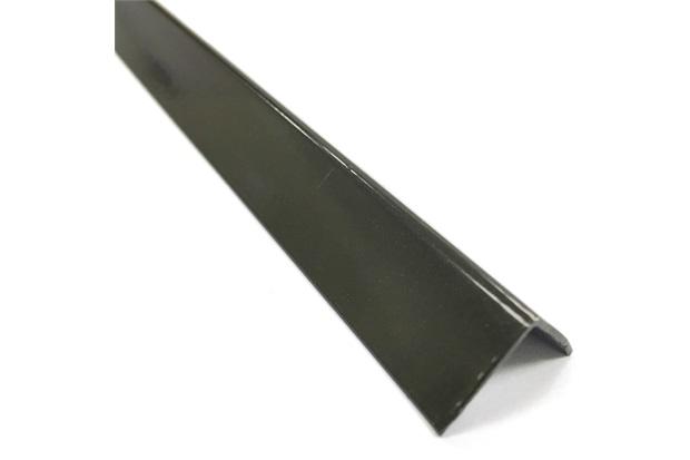 """Cantoneira em """"L"""" de Alumínio 5/8"""" Bronze com 3 Metros - Metropac"""