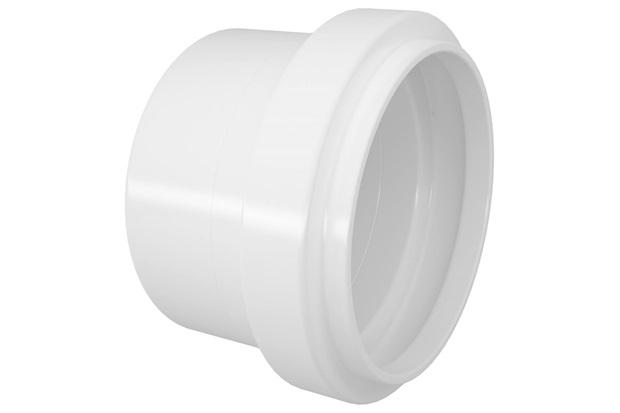 Cap em Pvc para Esgoto 50mm Branco - Fortlev