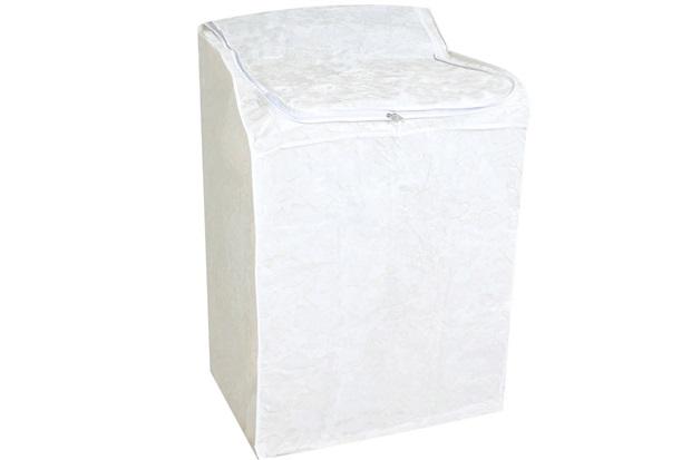 Capa para Máquina de Lavar Flanelada Média Branca - Secalux