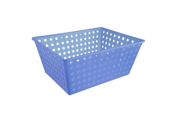 Cesta Organizadora One Maxi 39x30cm Azul - Coza