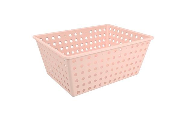 Cesta Organizadora One Maxi 39x30cm Rosa Blush - Coza
