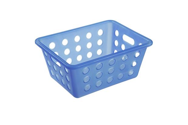 Cesta Organizadora One Pequena 18,6x14,2cm Azul - Coza