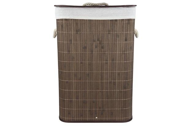 Cesto em Bambu 58x41cm Marrom - Casanova