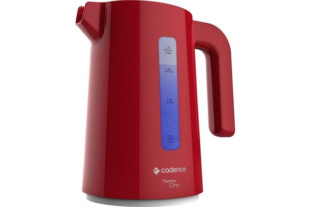 Chaleira Elétrica Thermo One Colors 1850w 220v 1,7 Litro Vermelha - Cadence