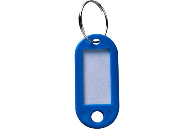 a0c9927ba154a Chaveiro Identificador com 4 Peças Azul - Azul - Bemfixa
