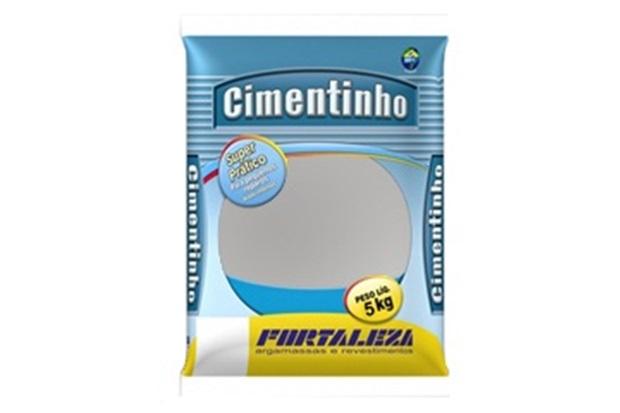 Cimentinho Cinza 5kg - Usina Fortaleza