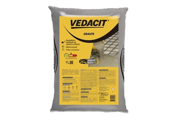 Cimento Graute Geral 25kg - Vedacit